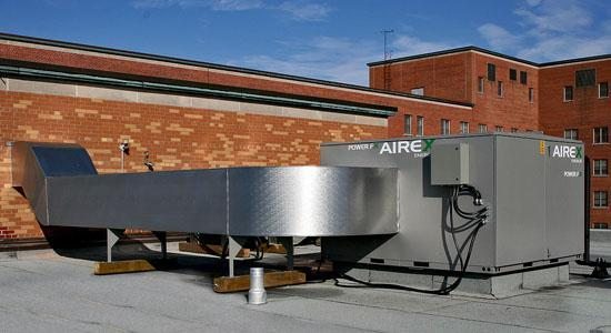 Integrated Energy Recovery Make-Up Air Units