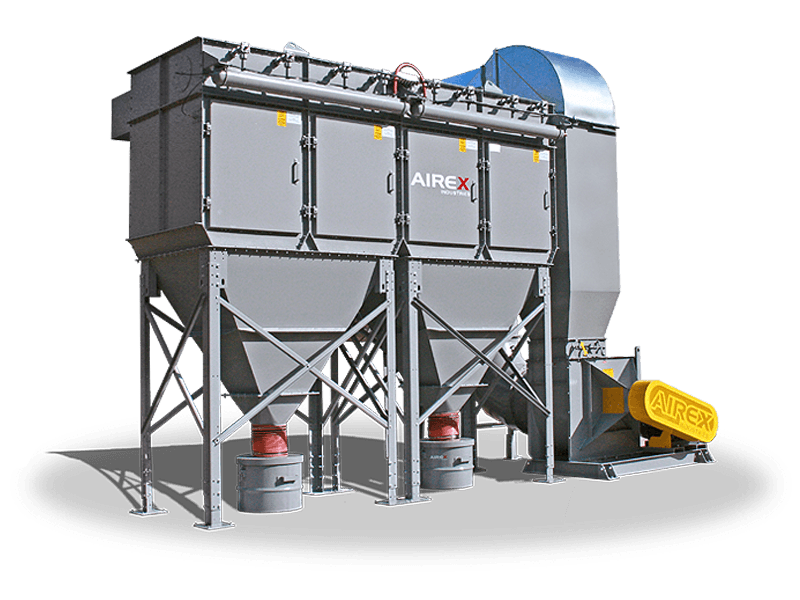 platinum cartridge dust collector