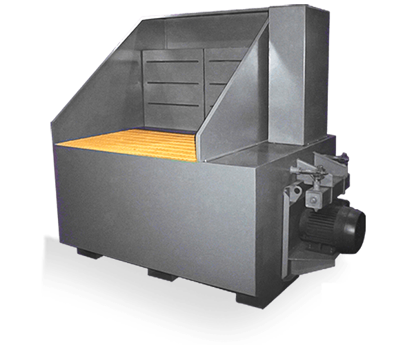 cartridge downdraft table