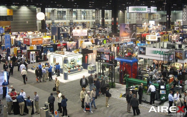 Fabtech Expo 2011 in Chicago