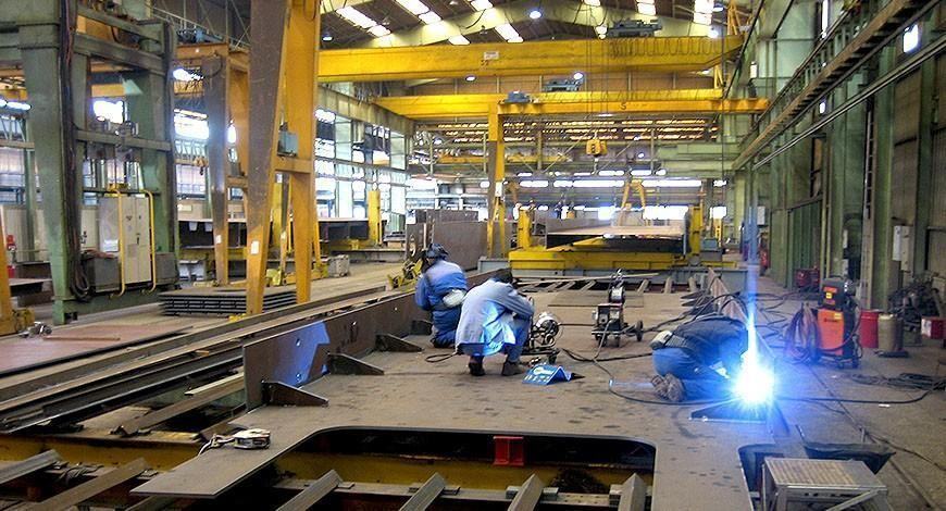 welding in large working area