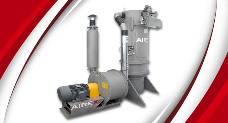 High-vacuum pump and dust collector