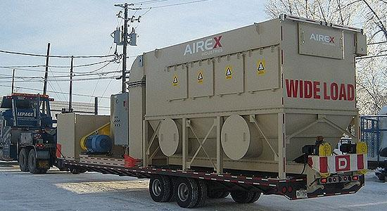 Mobile Dust Collector - DCCM by Airex Industries